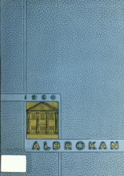 A L Brown High School - Albrokan Yearbook (Kannapolis, NC) online yearbook collection, 1954 Edition, Page 1