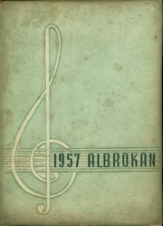 A L Brown High School - Albrokan Yearbook (Kannapolis, NC) online yearbook collection, 1957 Edition, Page 1