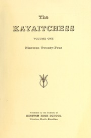 Page 3, 1924 Edition, Kinston High School - Kay Aitch Ess Yearbook (Kinston, NC) online yearbook collection