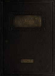 Kinston High School - Kay Aitch Ess Yearbook (Kinston, NC) online yearbook collection, 1927 Edition, Page 1
