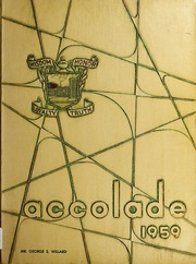 Page 1, 1959 Edition, Fike High School - Accolade Yearbook (Wilson, NC) online yearbook collection