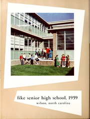 Page 8, 1959 Edition, Fike High School - Accolade Yearbook (Wilson, NC) online yearbook collection