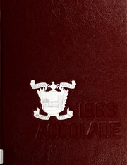 1963 Edition, Fike High School - Accolade Yearbook (Wilson, NC)