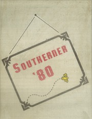1980 Edition, South Rowan High School - Southerner Yearbook (China Grove, NC)