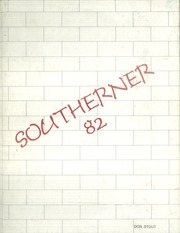 1982 Edition, South Rowan High School - Southerner Yearbook (China Grove, NC)