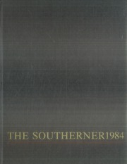 1984 Edition, South Rowan High School - Southerner Yearbook (China Grove, NC)
