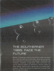 1985 Edition, South Rowan High School - Southerner Yearbook (China Grove, NC)
