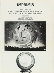 Page 5, 1983 Edition, East Gaston High School - Imprimis Yearbook (Mount Holly, NC) online yearbook collection