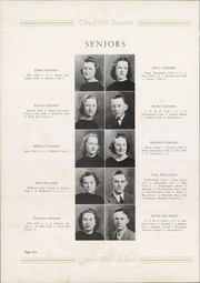 Page 10, 1939 Edition, Apex High School - Summit Yearbook (Apex, NC) online yearbook collection