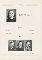 Page 17, 1939 Edition, Apex High School - Summit Yearbook (Apex, NC) online yearbook collection