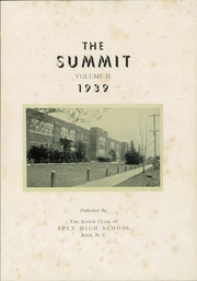 Page 5, 1939 Edition, Apex High School - Summit Yearbook (Apex, NC) online yearbook collection