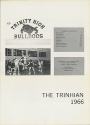 Page 11, 1966 Edition, Trinity High School - Trinhian Yearbook (Trinity, NC) online yearbook collection