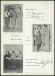 Page 10, 1952 Edition, Asheboro High School - Ash Hi Life Yearbook (Asheboro, NC) online yearbook collection