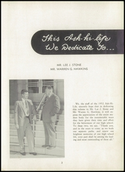 Page 7, 1952 Edition, Asheboro High School - Ash Hi Life Yearbook (Asheboro, NC) online yearbook collection
