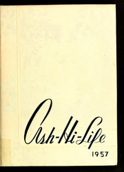 1957 Edition, Asheboro High School - Ash Hi Life Yearbook (Asheboro, NC)