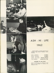 Page 5, 1962 Edition, Asheboro High School - Ash Hi Life Yearbook (Asheboro, NC) online yearbook collection