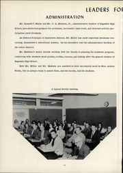 Page 16, 1961 Edition, Ragsdale High School - Echo Yearbook (Jamestown, NC) online yearbook collection