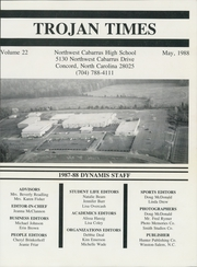 Page 3, 1988 Edition, Northwest Cabarrus High School - Dynamis Yearbook (Concord, NC) online yearbook collection
