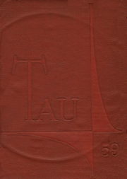 1959 Edition, J H Rose High School - Tau Yearbook (Greenville, NC)