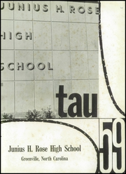 Page 5, 1959 Edition, J H Rose High School - Tau Yearbook (Greenville, NC) online yearbook collection