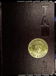 1962 Edition, J H Rose High School - Tau Yearbook (Greenville, NC)
