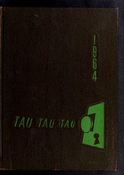 1964 Edition, J H Rose High School - Tau Yearbook (Greenville, NC)
