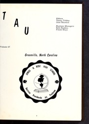 Page 7, 1964 Edition, J H Rose High School - Tau Yearbook (Greenville, NC) online yearbook collection