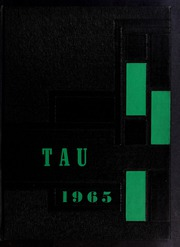 1965 Edition, J H Rose High School - Tau Yearbook (Greenville, NC)