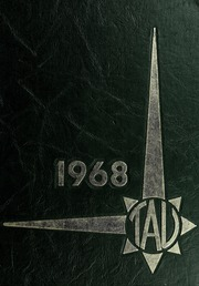 1968 Edition, J H Rose High School - Tau Yearbook (Greenville, NC)