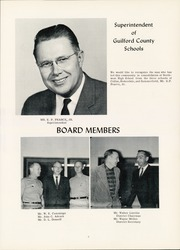 Page 11, 1963 Edition, Northwest Guilford High School - Viking Yearbook (Greensboro, NC) online yearbook collection