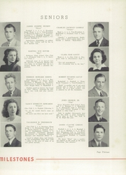Page 17, 1941 Edition, Kings Mountain High School - Milestones Yearbook (Kings Mountain, NC) online yearbook collection