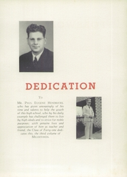 Page 9, 1941 Edition, Kings Mountain High School - Milestones Yearbook (Kings Mountain, NC) online yearbook collection