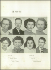 Page 14, 1950 Edition, Kings Mountain High School - Milestones Yearbook (Kings Mountain, NC) online yearbook collection