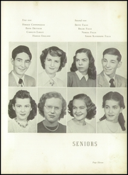Page 15, 1950 Edition, Kings Mountain High School - Milestones Yearbook (Kings Mountain, NC) online yearbook collection