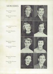 Page 13, 1953 Edition, Kings Mountain High School - Milestones Yearbook (Kings Mountain, NC) online yearbook collection