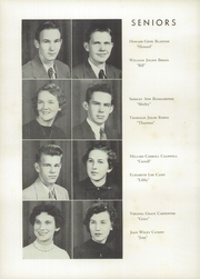 Page 14, 1953 Edition, Kings Mountain High School - Milestones Yearbook (Kings Mountain, NC) online yearbook collection