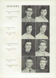 Page 15, 1953 Edition, Kings Mountain High School - Milestones Yearbook (Kings Mountain, NC) online yearbook collection