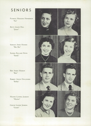 Page 17, 1953 Edition, Kings Mountain High School - Milestones Yearbook (Kings Mountain, NC) online yearbook collection