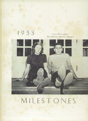 Page 5, 1953 Edition, Kings Mountain High School - Milestones Yearbook (Kings Mountain, NC) online yearbook collection