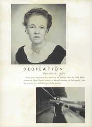 Page 8, 1953 Edition, Kings Mountain High School - Milestones Yearbook (Kings Mountain, NC) online yearbook collection