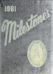Kings Mountain High School - Milestones Yearbook (Kings Mountain, NC) online yearbook collection, 1961 Edition, Page 1