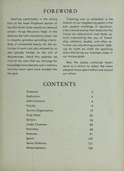 Page 7, 1961 Edition, Kings Mountain High School - Milestones Yearbook (Kings Mountain, NC) online yearbook collection