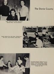 Page 14, 1957 Edition, Davie County High School - Clarion Yearbook (Mocksville, NC) online yearbook collection