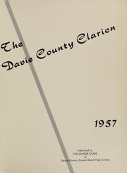Page 5, 1957 Edition, Davie County High School - Clarion Yearbook (Mocksville, NC) online yearbook collection