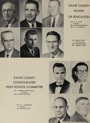 Page 8, 1957 Edition, Davie County High School - Clarion Yearbook (Mocksville, NC) online yearbook collection