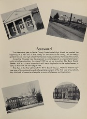 Page 9, 1957 Edition, Davie County High School - Clarion Yearbook (Mocksville, NC) online yearbook collection