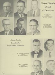 Page 10, 1958 Edition, Davie County High School - Clarion Yearbook (Mocksville, NC) online yearbook collection