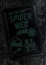 1949 Edition, Concord High School - Spider Web Yearbook (Concord, NC)
