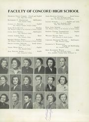 Page 11, 1951 Edition, Concord High School - Spider Web Yearbook (Concord, NC) online yearbook collection