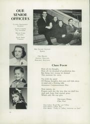 Page 14, 1951 Edition, Concord High School - Spider Web Yearbook (Concord, NC) online yearbook collection